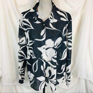 Vintage 90s Winter Ridge Size XL Button Down Shirt